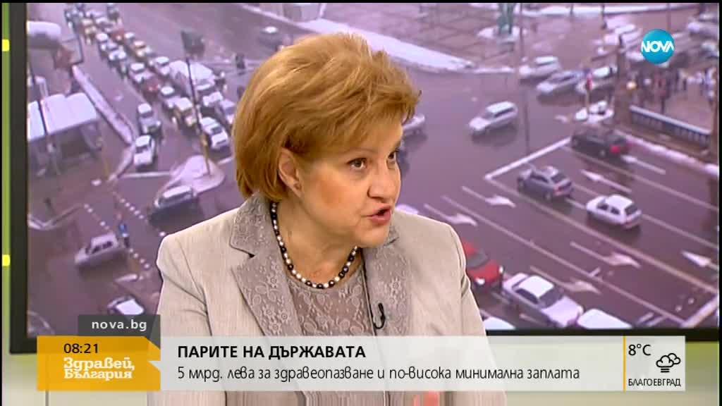 Менда Стоянова: Няма как да няма лимити при бюджета на НЗОК