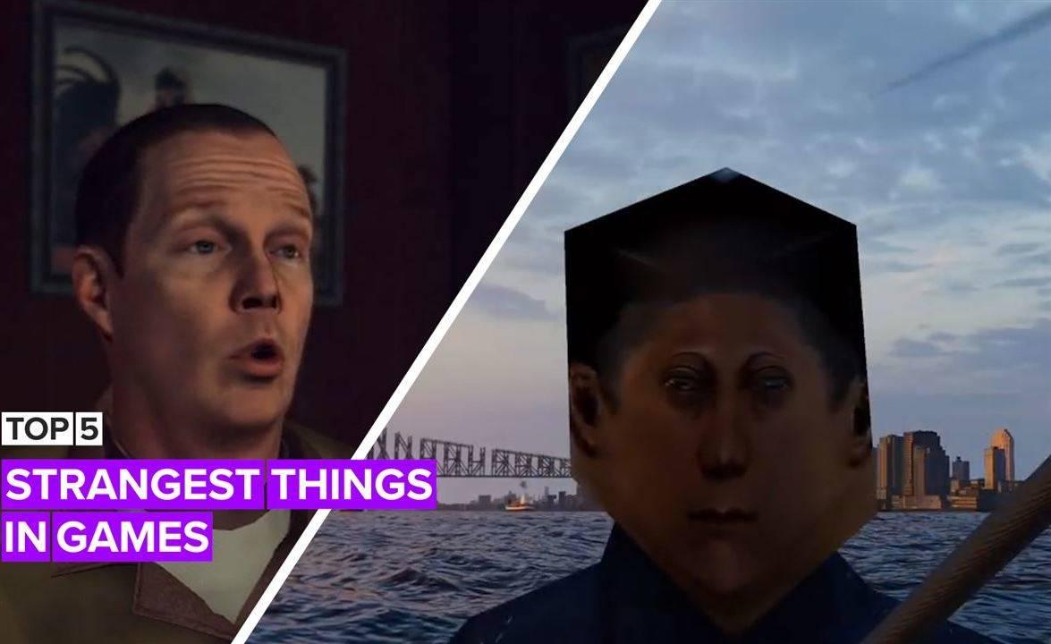 Top 5 strangest things in games
