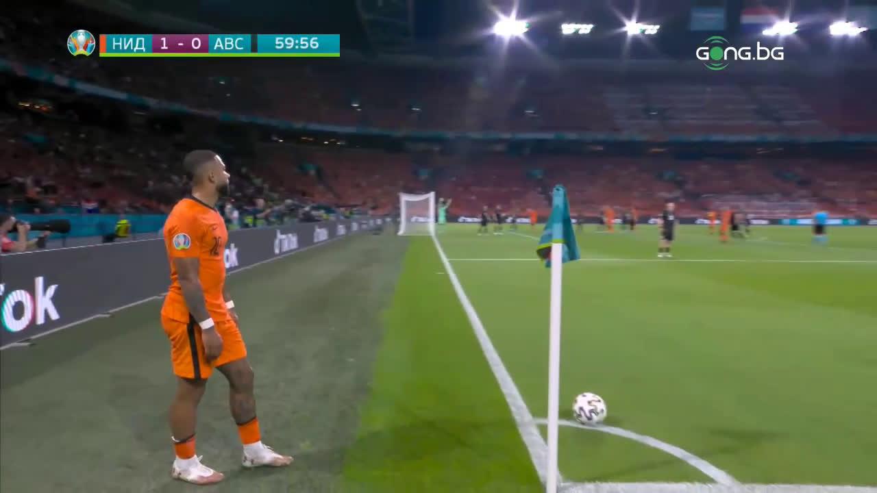 Нидерландия - Австрия 2:0 /репортаж/