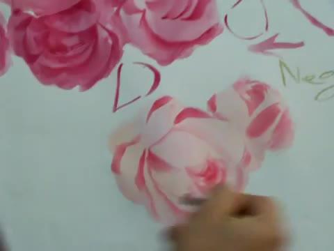 Как се рисуват рози-демонстрация от Adisorn Pornsirikarn (акварел) част 2/5
