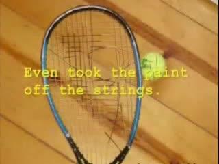 Оръдие С Тенис Топки