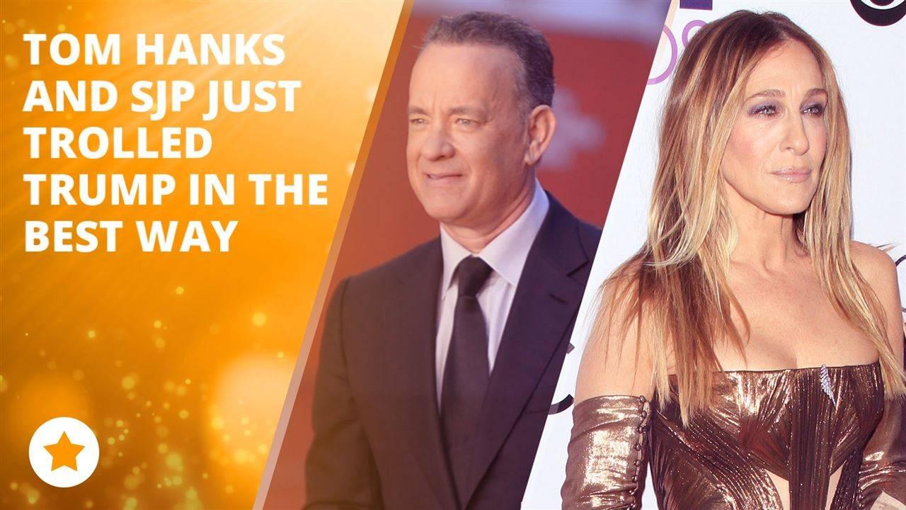Tom Hanks and SJP take on the White House