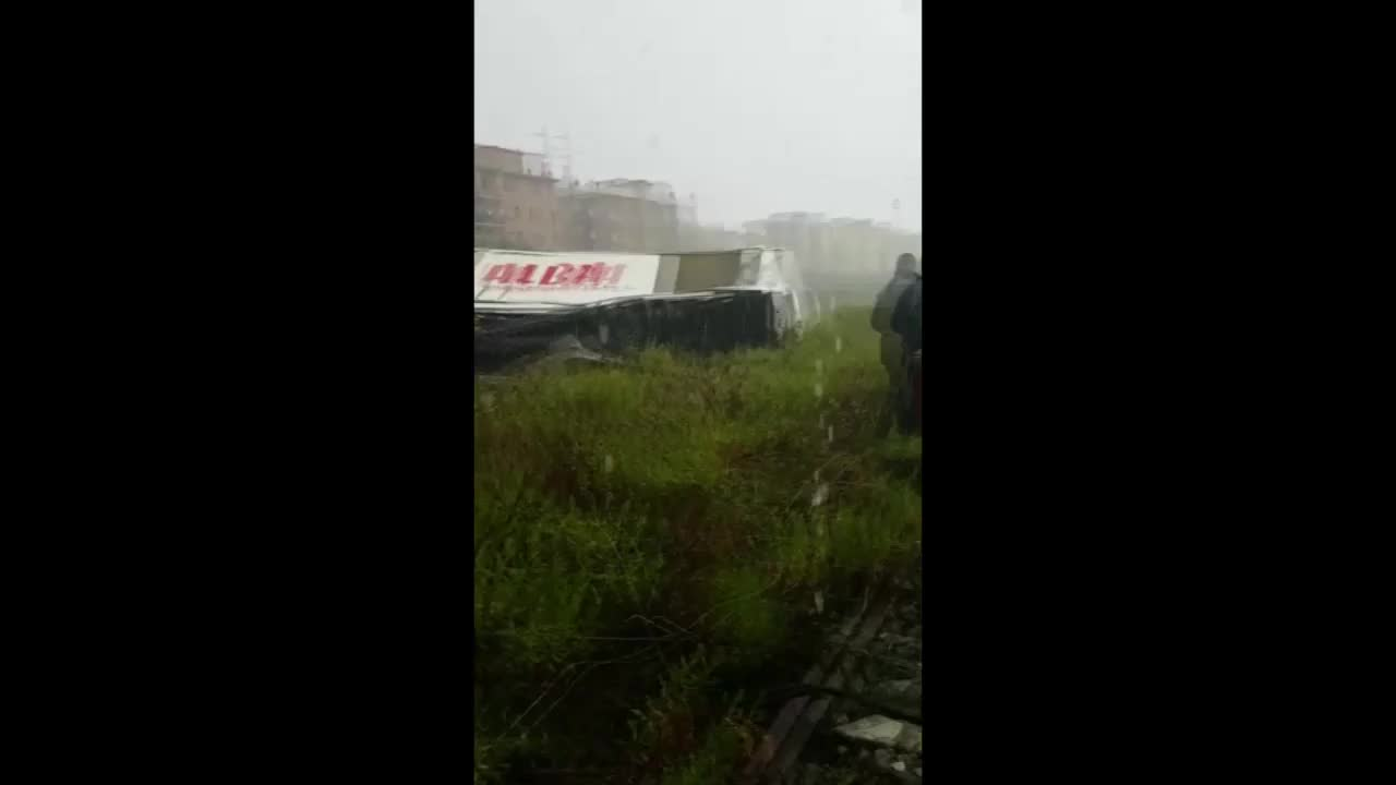 Italy: First responders rush to help victims of motorway bridge collapse