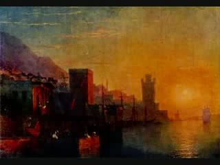 Картини на руския класик И. К. Айвазовски