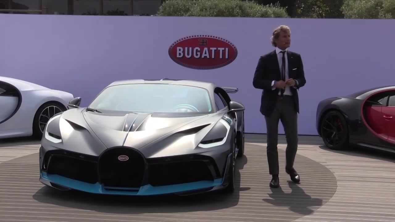 USA: Bugatti unveils $5 million Divo supercar at Quail motor show