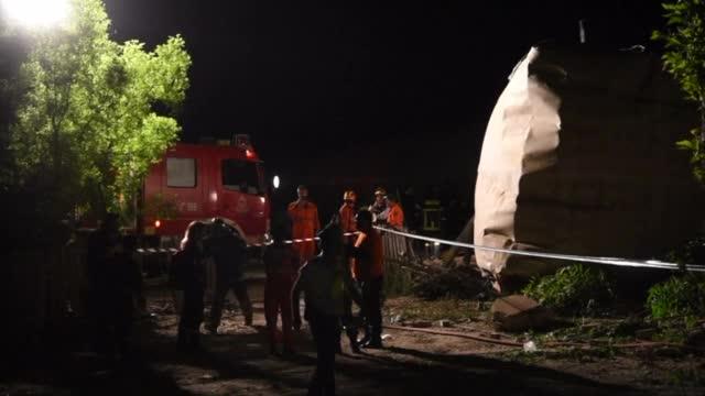 Влак се вряза в къща в Гърция