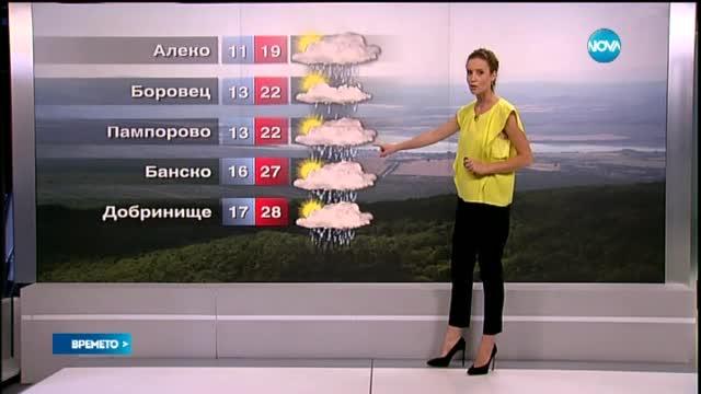 Прогноза за времето (01.08.2015 - сутрешна)