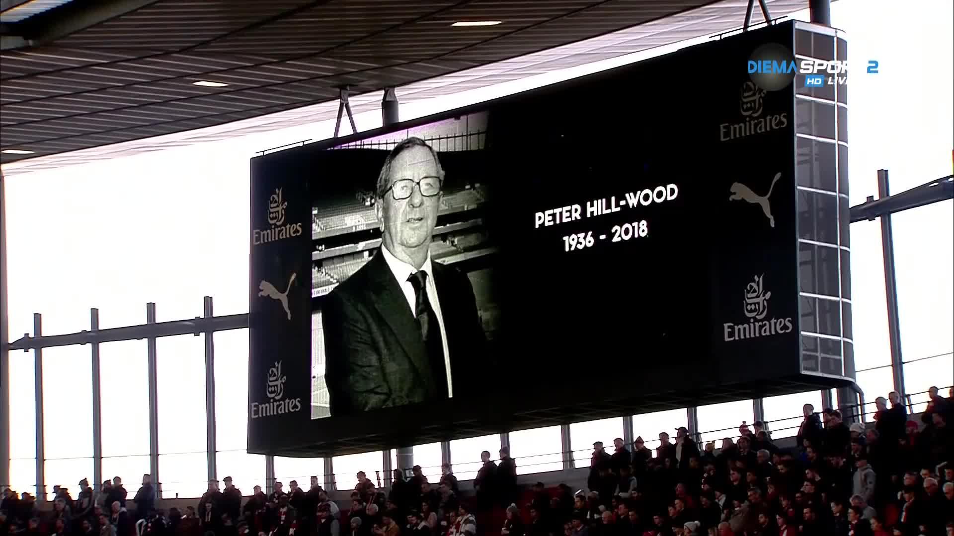 """Арсенал и Фулъм отдадоха почит на легенда на \""""артилеристите\"""""""