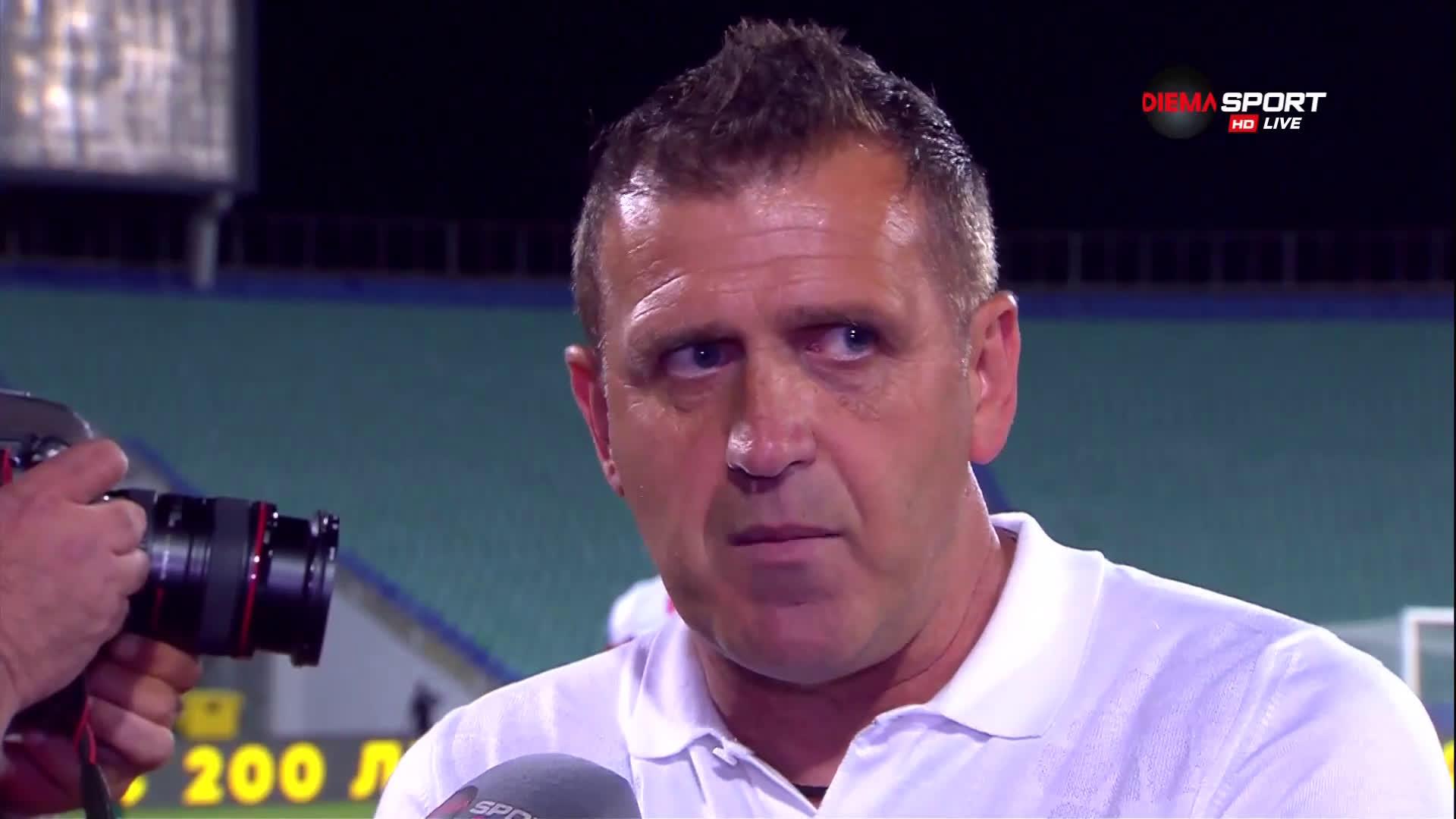 Бруно Акрапович: Доволен съм, имахме възможности да отбележим
