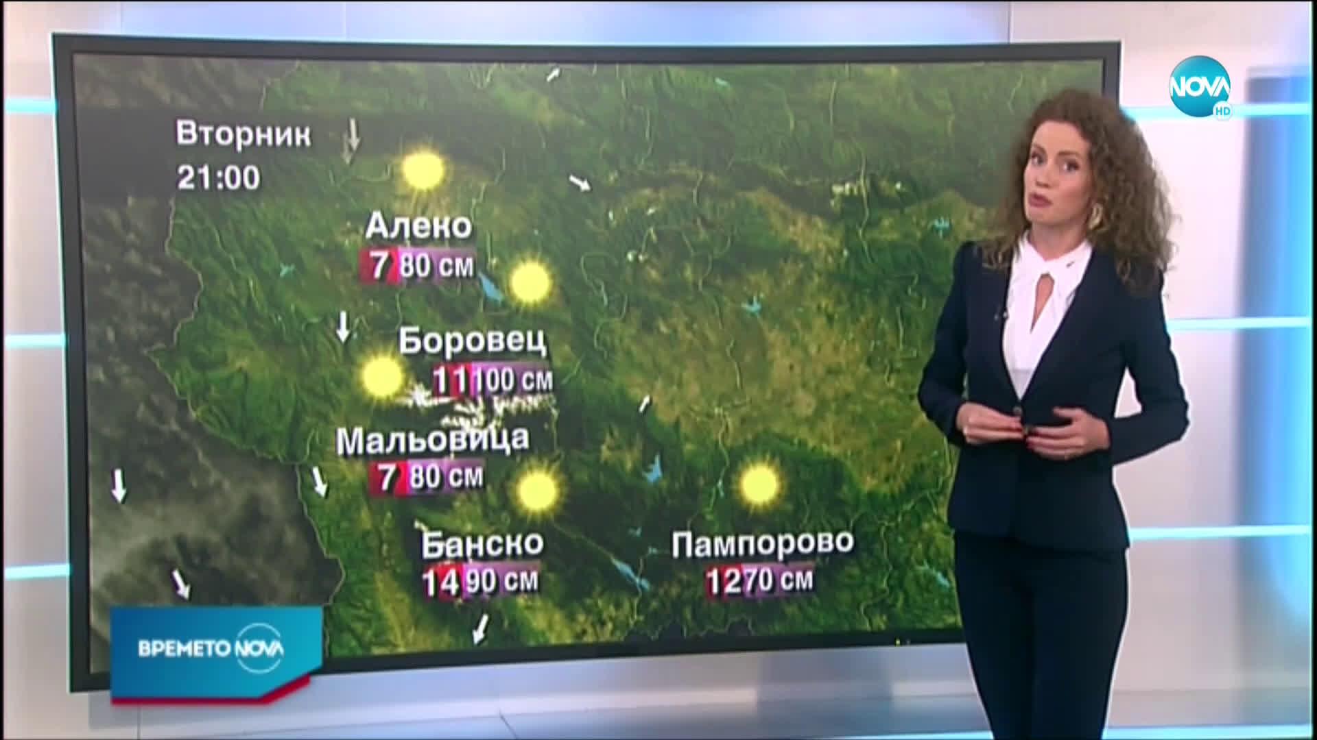 Прогноза за времето (22.02.2021 - централна емисия)
