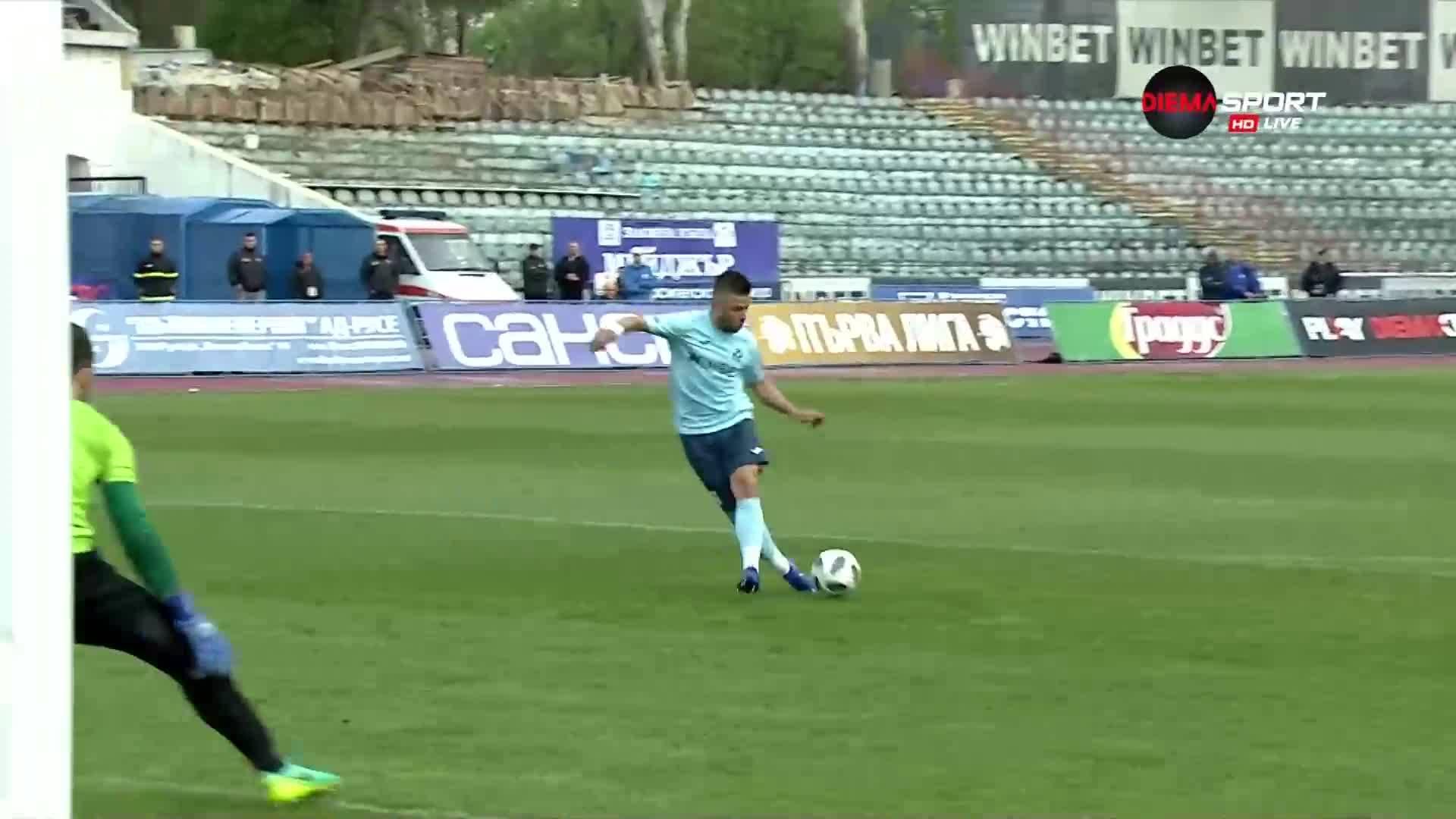 Нов гол за Дунав, отново Фирцулеску наказа Локо Пд
