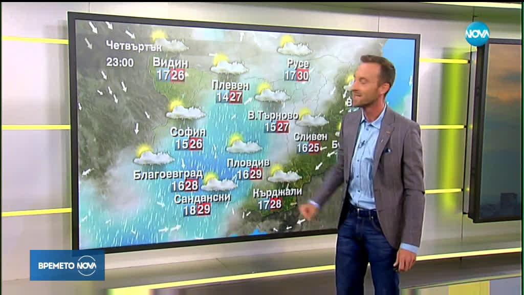 Прогноза за времето (15.08.2019 - сутрешна)