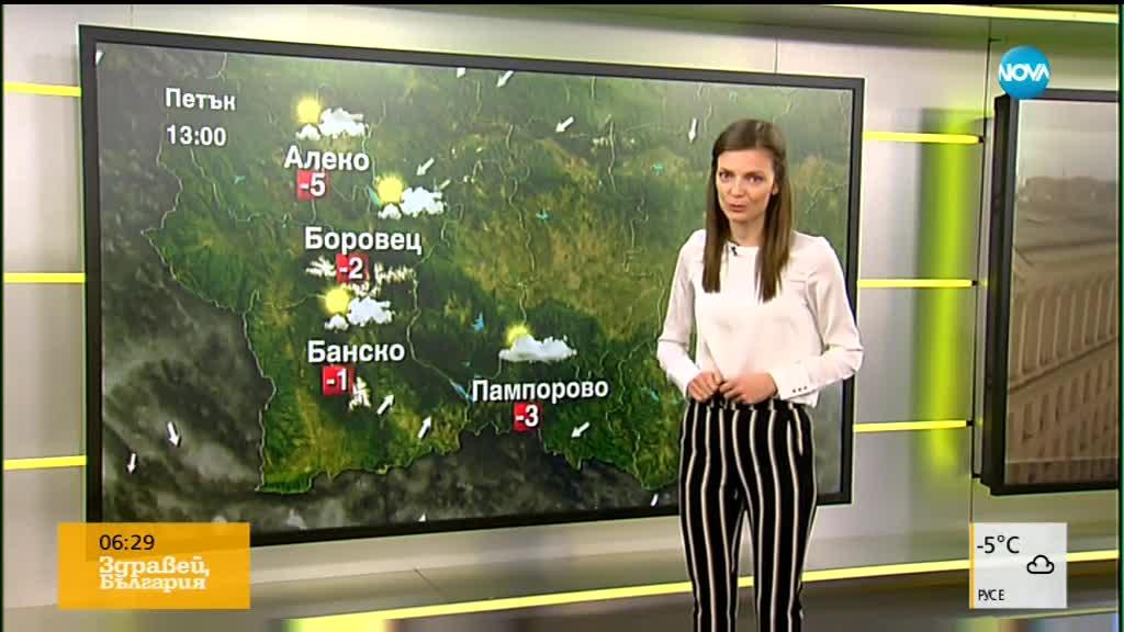 Прогноза за времето (30.11.18 - сутрешна)