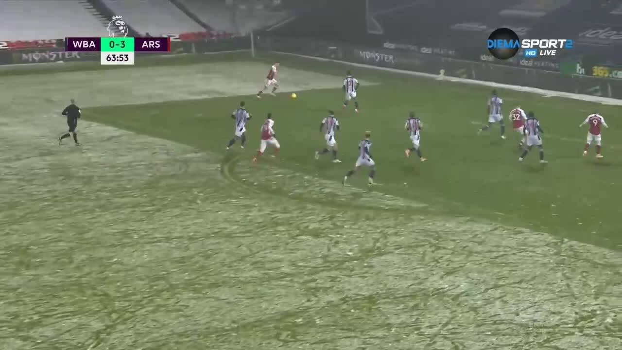 Уест Бромич - Арсенал 0:4 /репортаж/