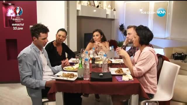 Моника Валериева посреща гостите - Черешката на тортата (30.06.2016)
