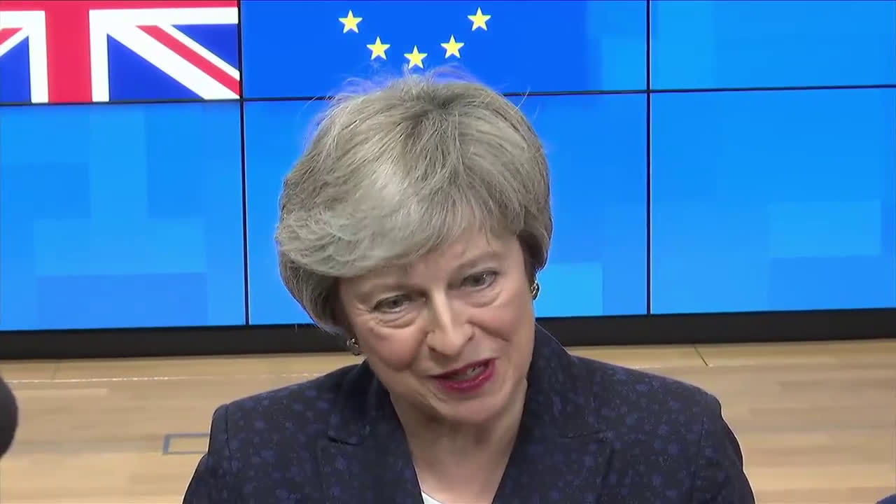 Belgium: May says Tusk Brexiter 'hell' comment caused 'widespread dismay' in UK