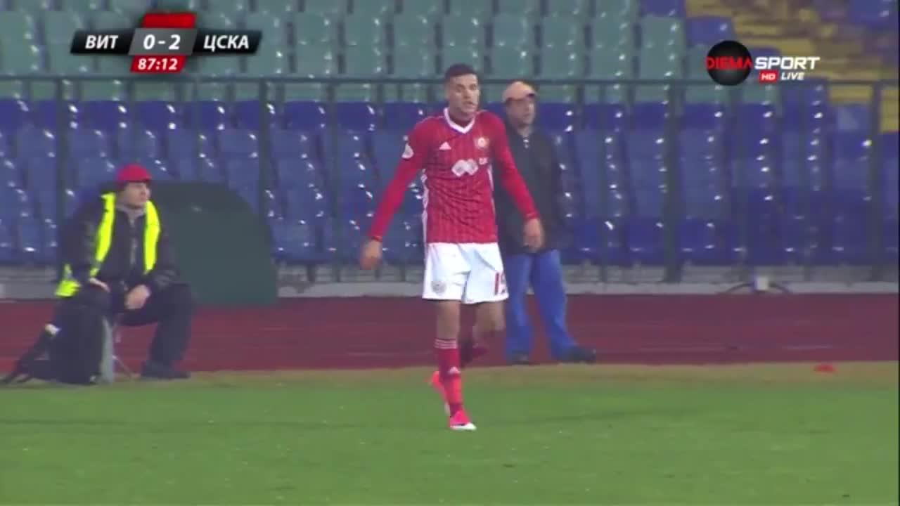 Попадение на Кирил Десподов срещу Витоша