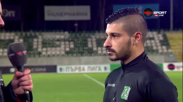 Шоколаров: Готов съм за първия отбор на Лудогорец, но треньорите решават