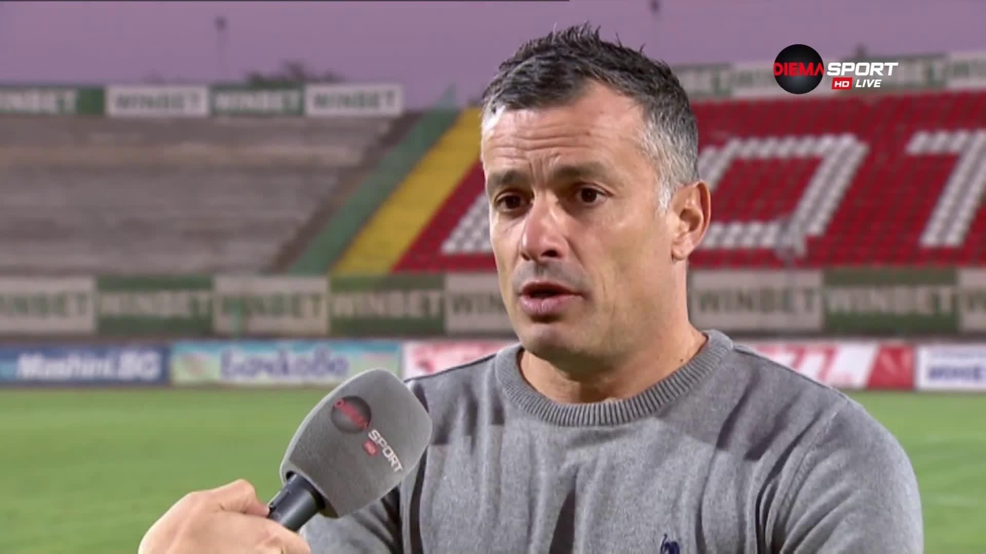 Людмил Киров остана доволен от точката срещу Ботев Враца