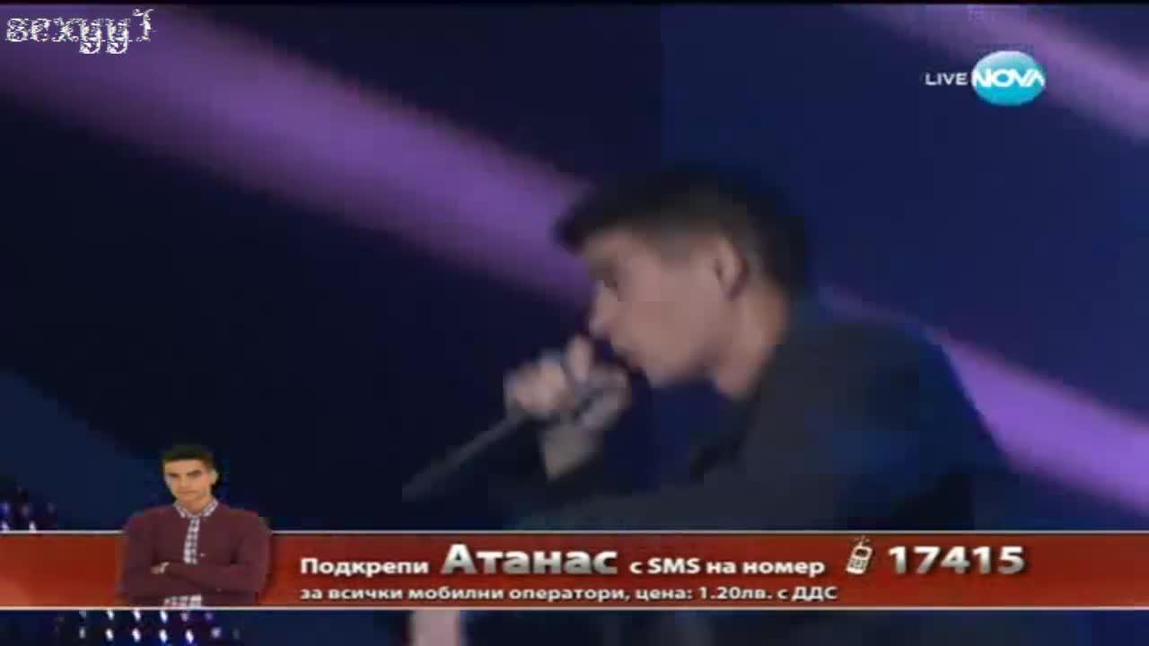 Атанас - Знаеш ли кой видях / X Factor България 2 - 10.10.2013 + Субтитри!