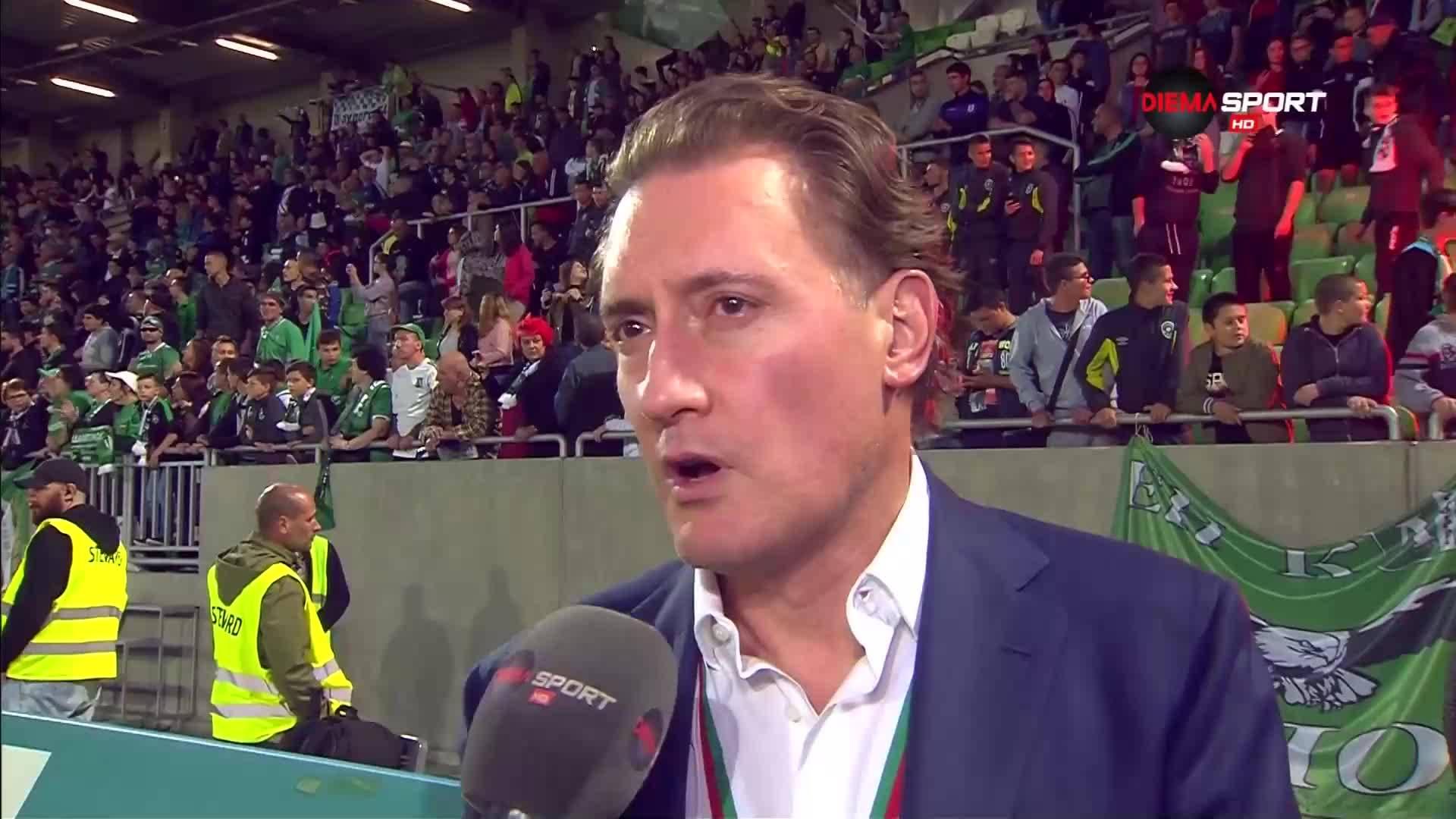Домусчиев: Значително по-труден ще е пробивът в Шампионската лига