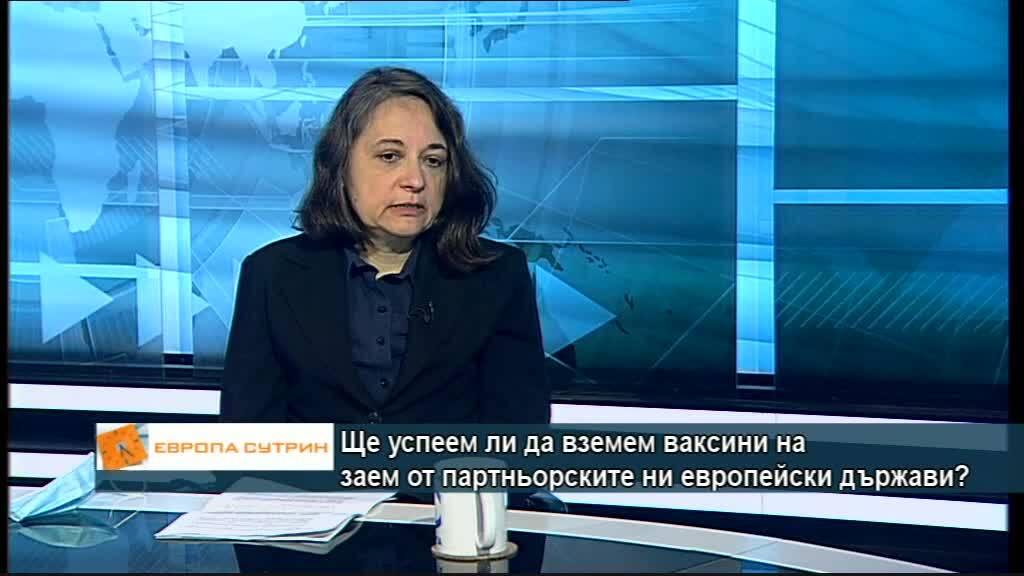 Жени Начева: Дo края на месец март ще получим над 200 000 ваксини