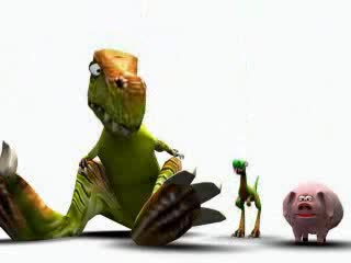 Pixar - Пръдливите Динозаври