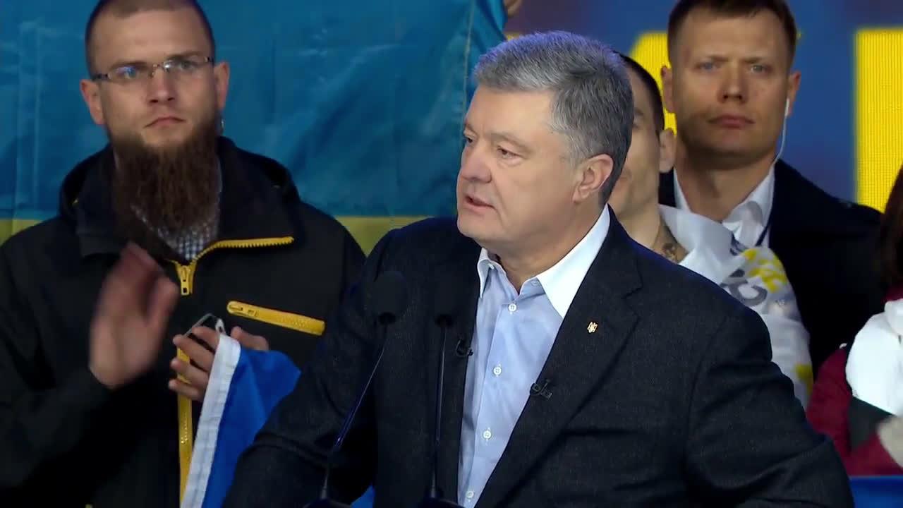 Ukraine: Poroshenko and Zelenskiy make closing remarks in presidential debate