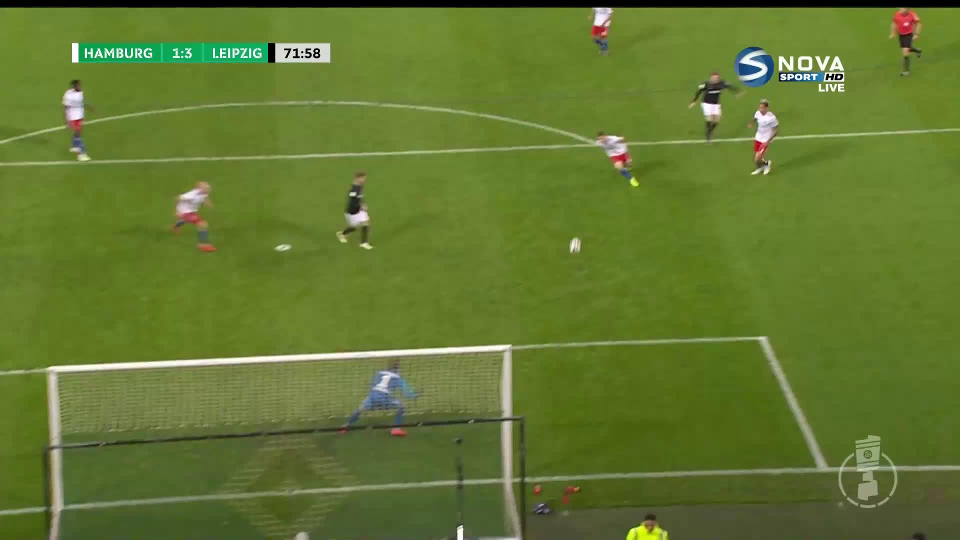 РБ Лайпциг с два гола аванс срещу Хамбургер