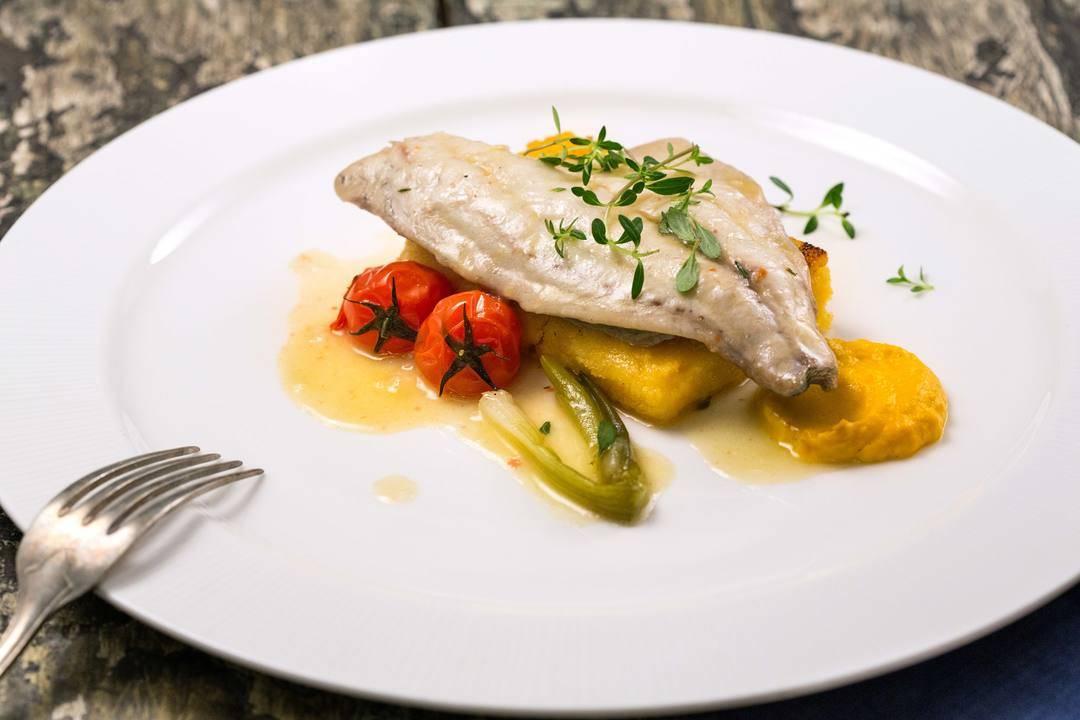 Вкусът на Истрия с Давид Скоко   Филе от ципура с печена полента и чери домати