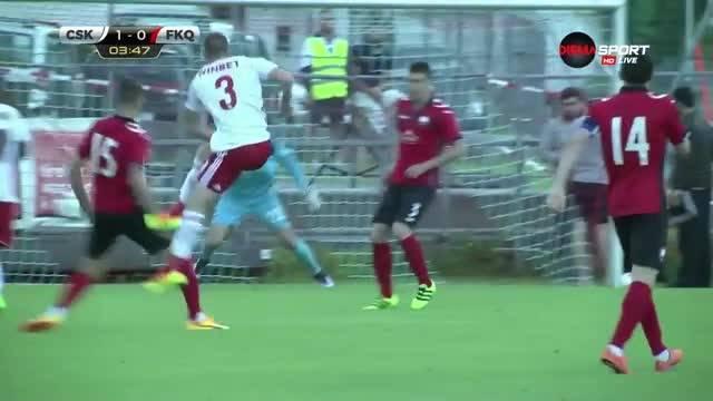 Хубав гол на Антон Недялков изведе ЦСКА напред