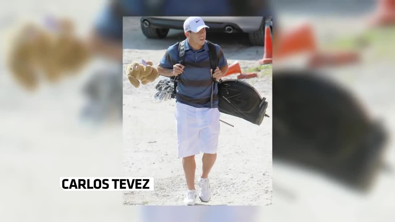 Карлос Тевес печели турнир по голф