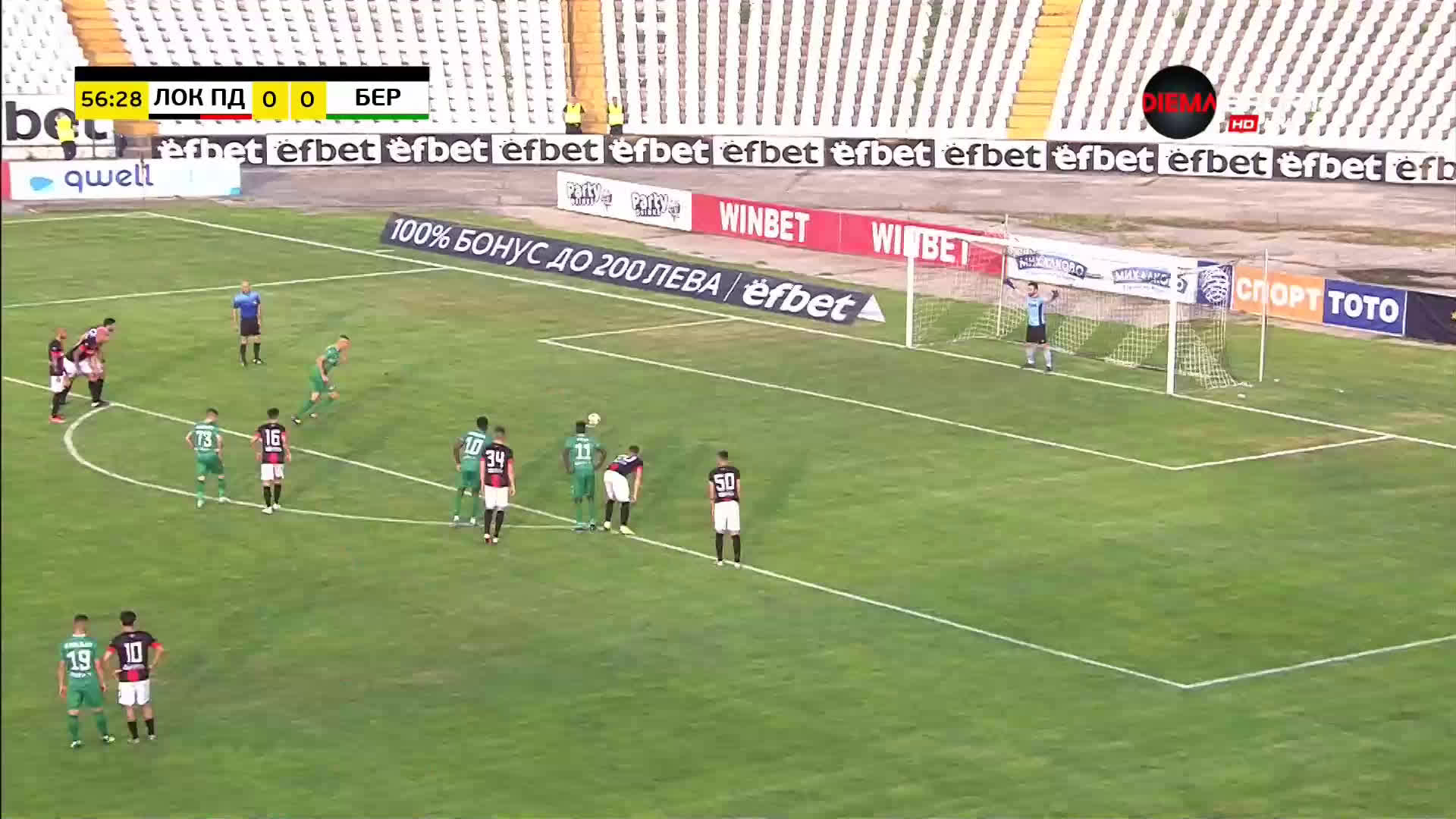 Камбуров заби гол 234 срещу бившия Локо Пд