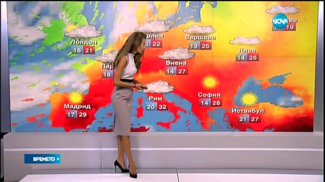 Прогноза за времето (25.08.2015 - централна)
