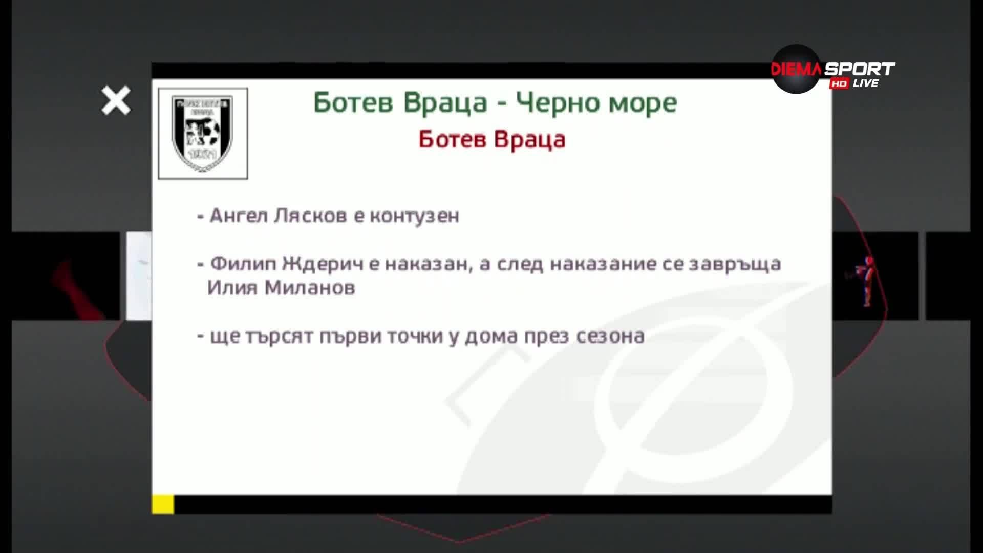 Ботев Вр и Черно море дават старт на новия кръг