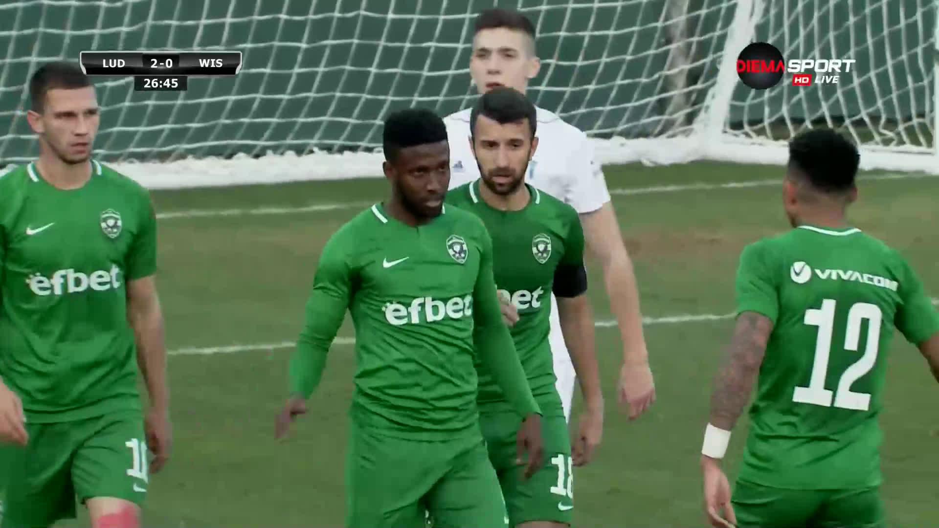 Таута отбеляза втори гол за Лудогорец