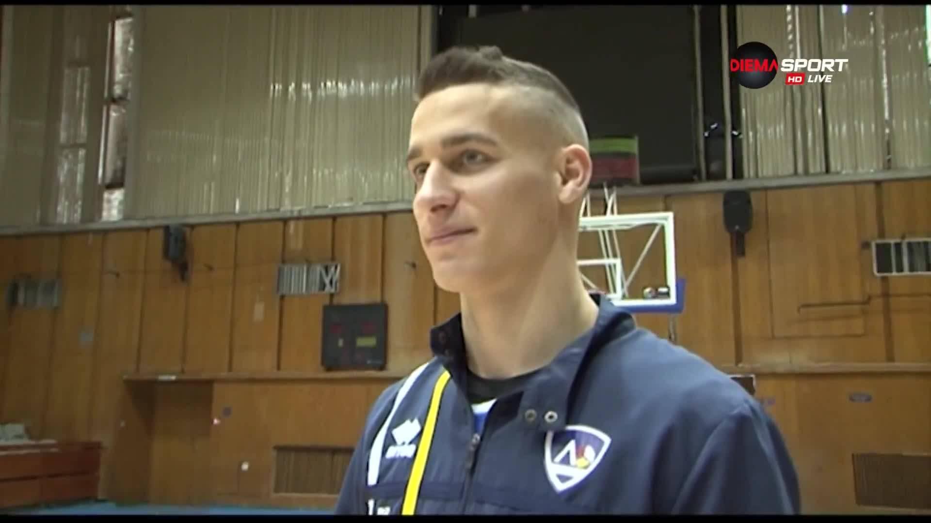 Гордън Люцканов: Винаги съм искал да играя в Левски
