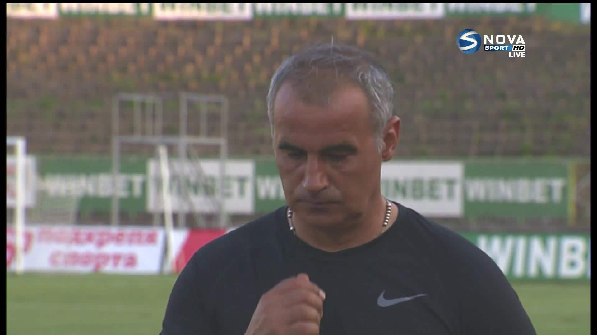 Сашо Ангелов: С дух и воля обърнахме мача, очаквам Божинов