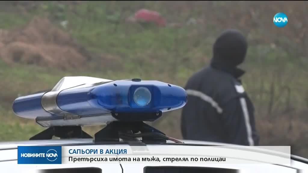 Оставиха в ареста мъжа, който се барикадира и стреля по полицаи