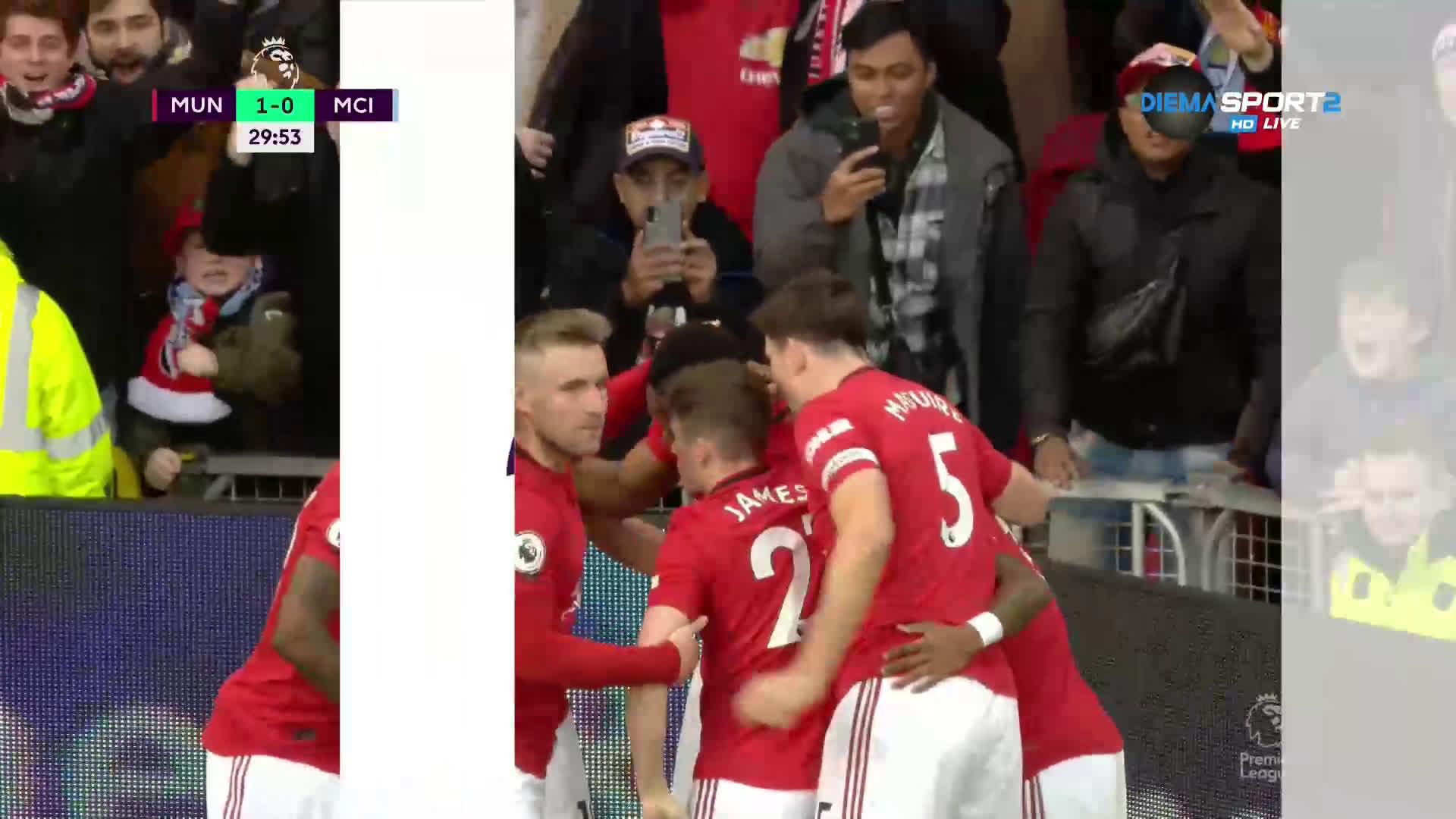 Юнайтед удари по Сити със заучено положение