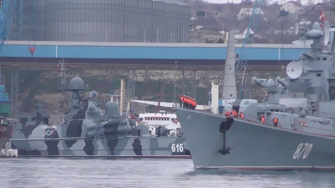 Russia: Smetlivy warship departs Sevastopol for Syrian coast