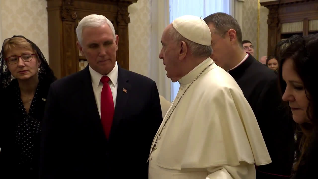 Holy See: Pope Francis receives US Vice President Pence