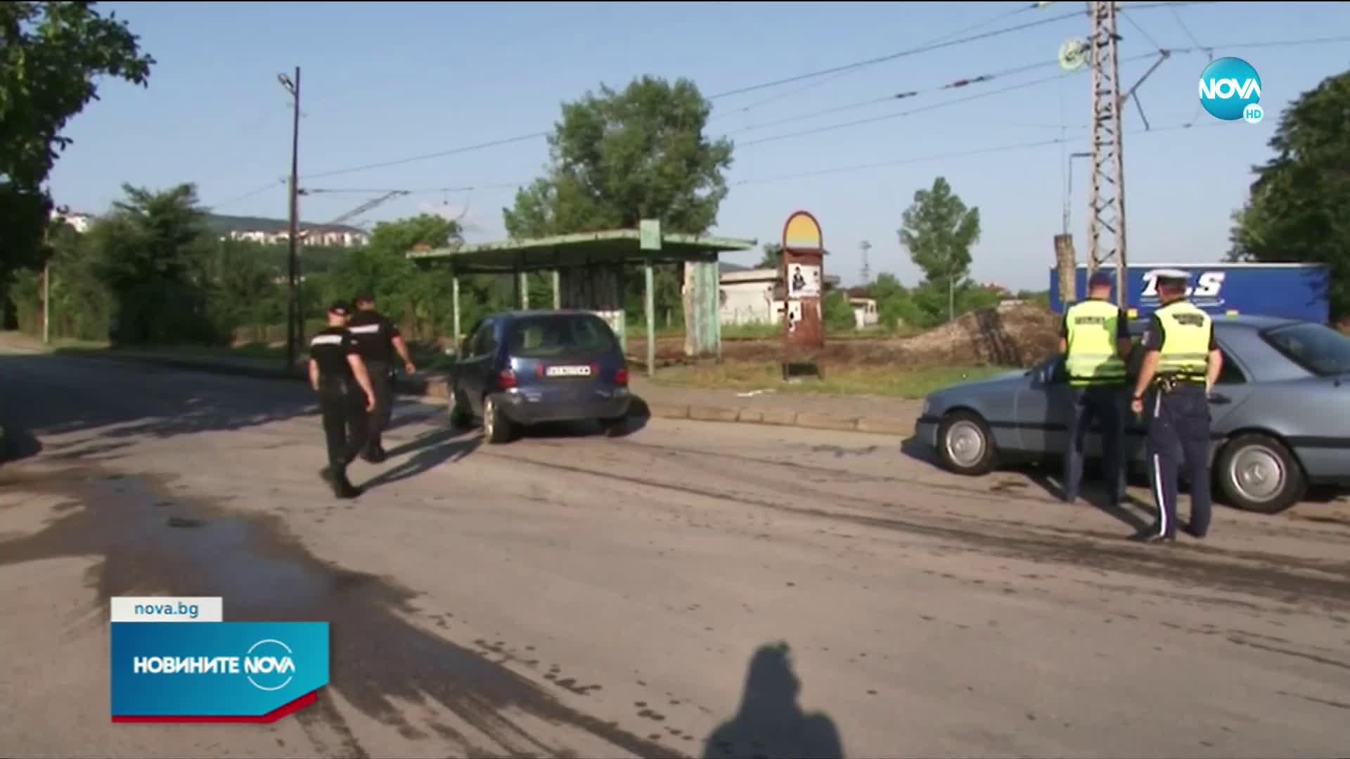 Акция в Горна Оряховица, привикаха 10 души в полицията