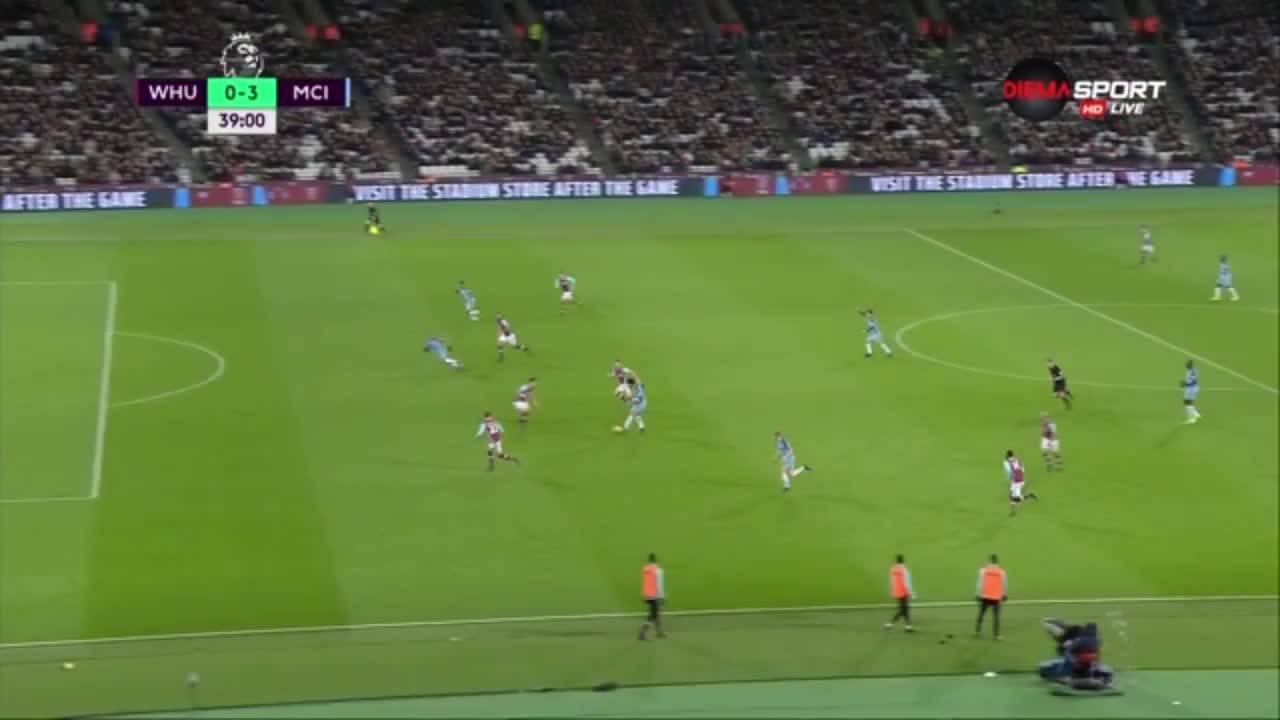 Уест Хем - Манчестър Сити 0:4, Висша лига, 23-и кръг