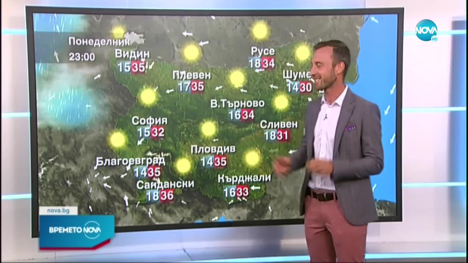 Прогноза за времето (26.07.2021 - обедна емисия)