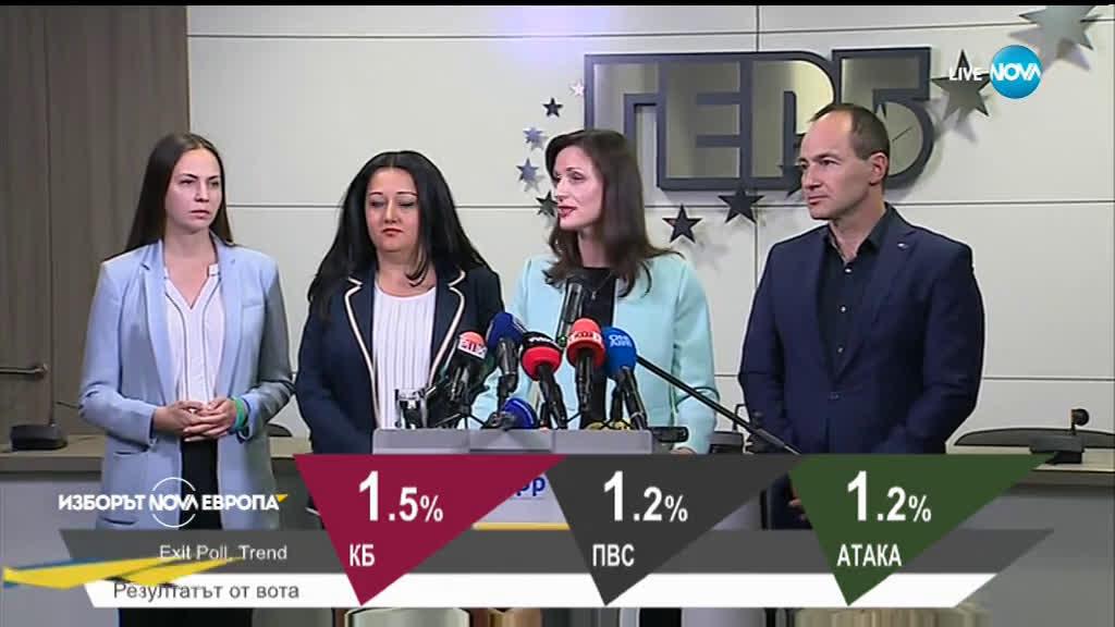 Мария Габриел: Благодаря на избирателите, които не се поддадоха на антикампанията