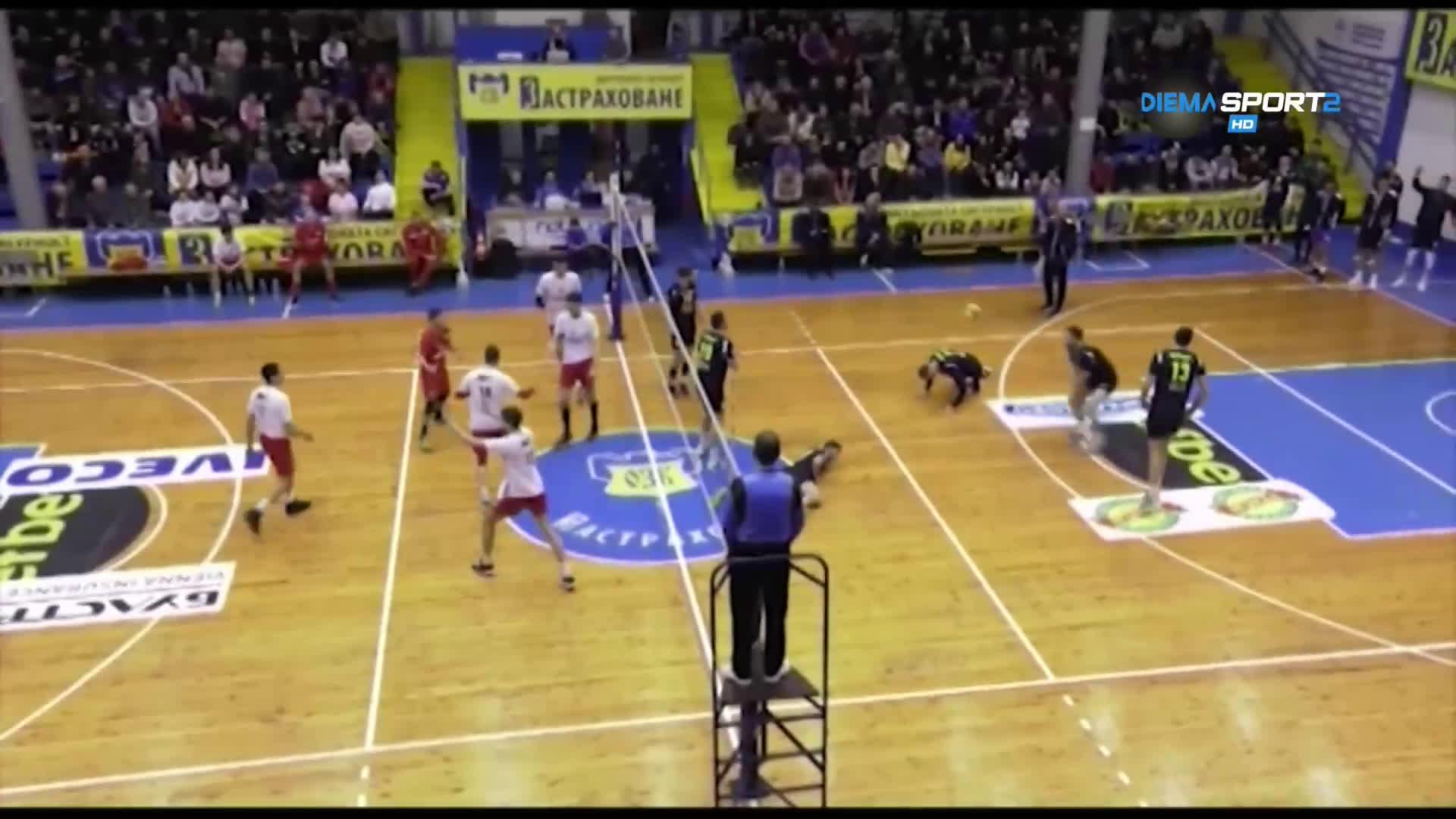 Какво се случи в 17-ия кръг в Суперлигата по волейбол?