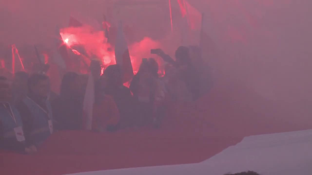 Poland: Polish pres. addresses Warsaw Independence Day march