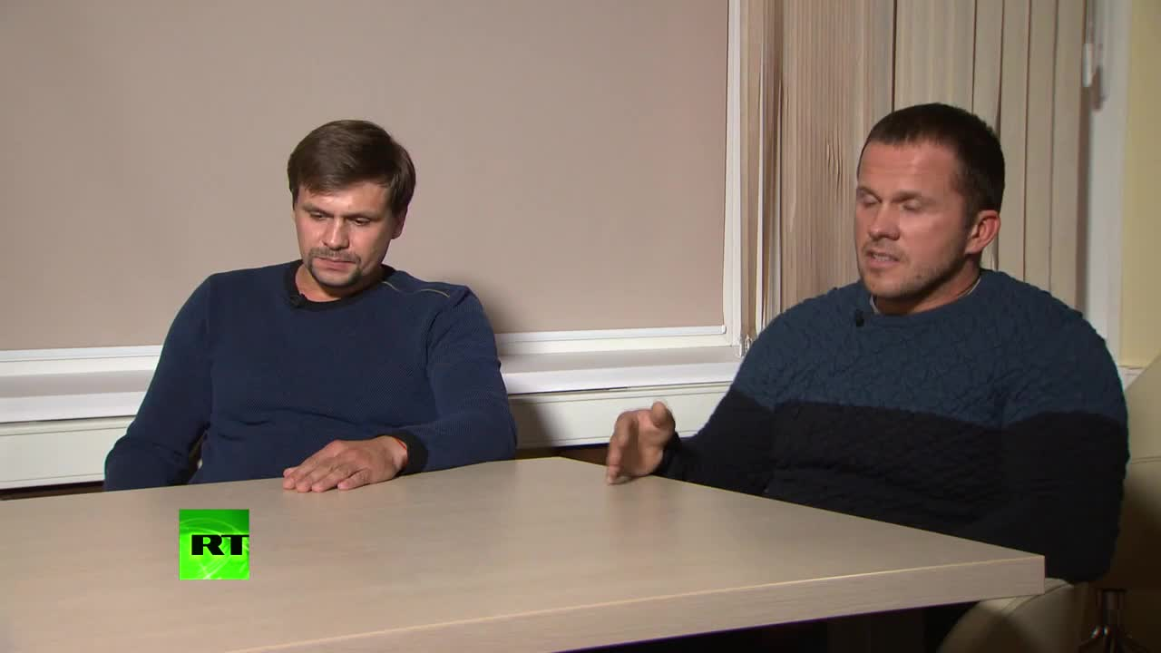 Russia: 'Our lives have been turned upside down' - UK's suspects in Skripal case *EXCLUSIVE*