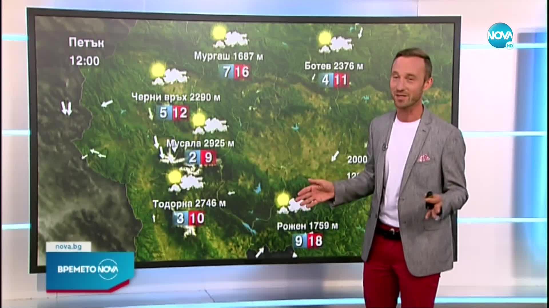 Прогноза за времето (23.07.2021 - обедна емисия)